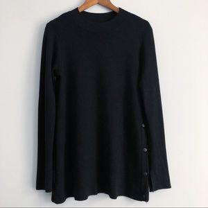 Zara Knit Long Sleeve Crewneck Sweater Shirt